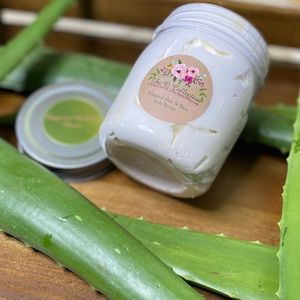 The O Collection Whipped Aloe & Shea Body Butter